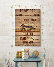 TO MY DAD - HORSE NOT EASY FROM DAUGHTER 16x24 Poster lifestyle-holiday-poster-3