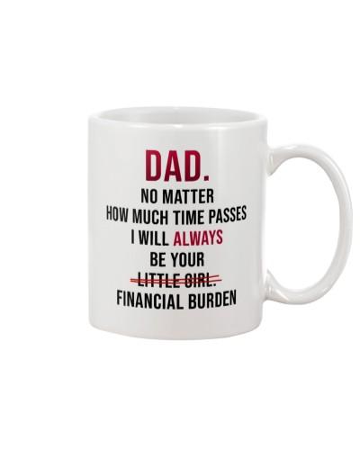 FINANCIAL BURDEN MUG