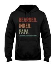 BEARDED INKED GRANDPA Hooded Sweatshirt tile