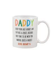 DADDY - PEACE AND QUIET Mug front
