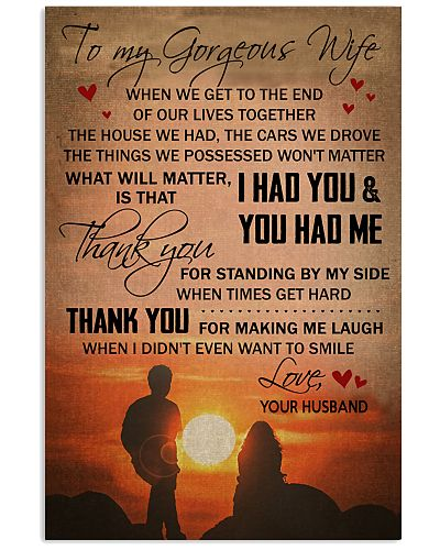 I HAD YOU WIFE POSTER
