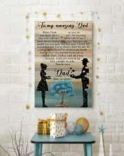 TO MY DAD - WHEN I LOOK AT YOU 16x24 Poster lifestyle-holiday-poster-3