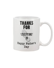 BEST GIFT FOR YOUR STEPDAD - Stepping in  Mug front