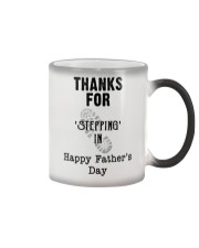 BEST GIFT FOR YOUR STEPDAD - Stepping in  Color Changing Mug thumbnail