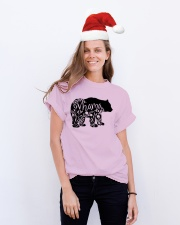 MOTHER GIFTS - MAMA BEAR Classic T-Shirt lifestyle-holiday-crewneck-front-1