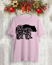 MOTHER GIFTS - MAMA BEAR Classic T-Shirt lifestyle-holiday-crewneck-front-2