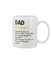 Four-Star Dad Awesome Mug front