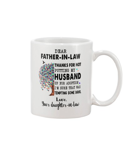 Thanks for not putting my husband - FIL