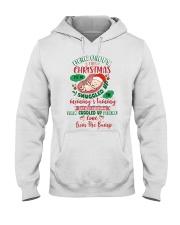 Dear Daddy 5 Xmas Snuggled Hooded Sweatshirt tile