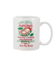 Dear Daddy 5 Xmas Snuggled Mug front