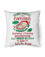 Dear Daddy 5 Xmas Snuggled Indoor Pillow tile