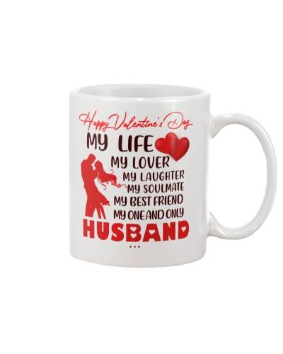 MY ONE AND ONLY HUSBAND MUG