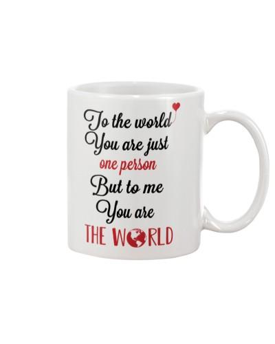 TO THE WORLD MUG