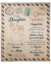My Lover For You Is Forever Blanket For Daughter Fleece Blanket tile