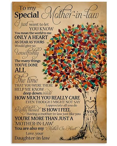 TO MY SPECIAL MOTHER-IN-LAW POSTER
