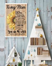 MOM YOU ARE THE WORLD SUNFLOWER POSTER 16x24 Poster lifestyle-holiday-poster-2