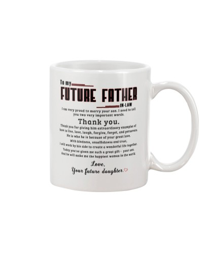 TO MY FUTURE FATHER-IN-LAW