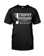 Trophy husband Classic T-Shirt front