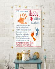 To Daddy - Best Gift For Father's Day 16x24 Poster lifestyle-holiday-poster-3
