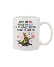 Naughty Thought Mug Mug front
