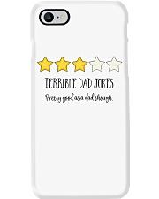 TERRIBLE DAD JOKES Phone Case tile