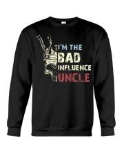 BAD INFLUENCE UNCLE Crewneck Sweatshirt tile