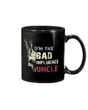BAD INFLUENCE UNCLE Mug tile