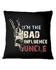 BAD INFLUENCE UNCLE Square Pillowcase tile