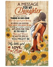 A Message For My Daughter 11x17 Poster front