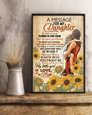 A Message For My Daughter 11x17 Poster lifestyle-poster-3