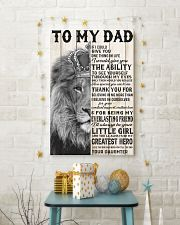 LION - TO MY DAD 16x24 Poster lifestyle-holiday-poster-3