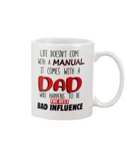 Bad Influence Manual Dad Mug front