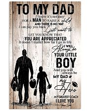 FOOTBALL SON APPRECIATED 11x17 Poster front