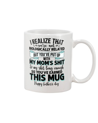 Best gift for Stepdad - BIOLOGICALLY RELATED