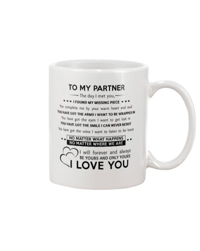 TO MY PARTNER