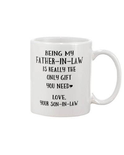 Being my father-in-law - from son-in-law