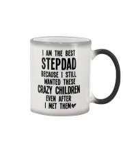 I am the best Stepdad Color Changing Mug tile