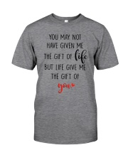 Great gift for stepdad - the gift of life Classic T-Shirt tile