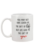 Great gift for stepdad - the gift of life Mug back