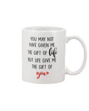 Great gift for stepdad - the gift of life Mug front