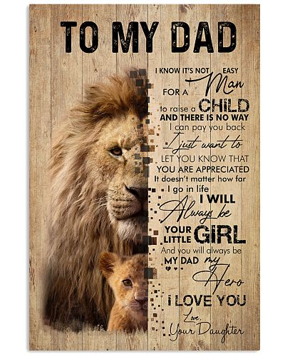 LION DAD AND DAUGHTER