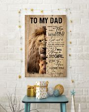 LION DAD AND DAUGHTER 16x24 Poster lifestyle-holiday-poster-3