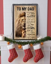 LION DAD AND DAUGHTER 16x24 Poster lifestyle-holiday-poster-4