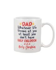 Ugly Children Christmas Mug Gift For Dad Mug front