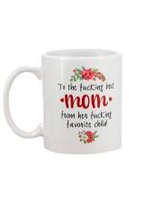 GIFT FOR MOMS Mug back