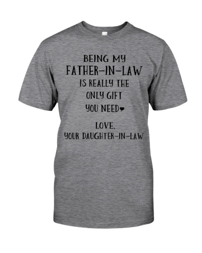 Being my father-in-law
