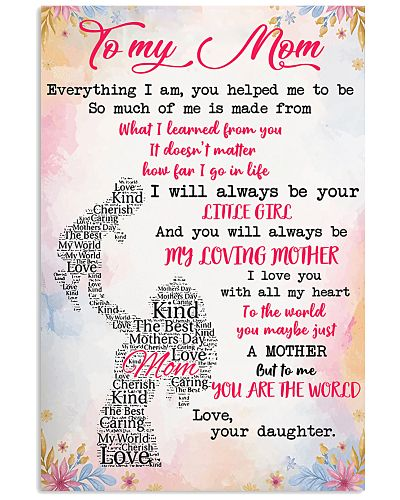 TO MY MOTHER - LOVE YOUR DAUGHTER