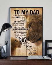 TO MY DAD - EASY LION FROM SON 16x24 Poster lifestyle-poster-2