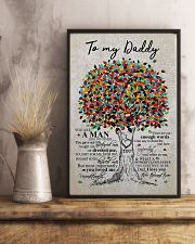 To my daddy - Love you 11x17 Poster lifestyle-poster-3