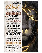 THANK YOU FOR BEING MY DAD 16x24 Poster front